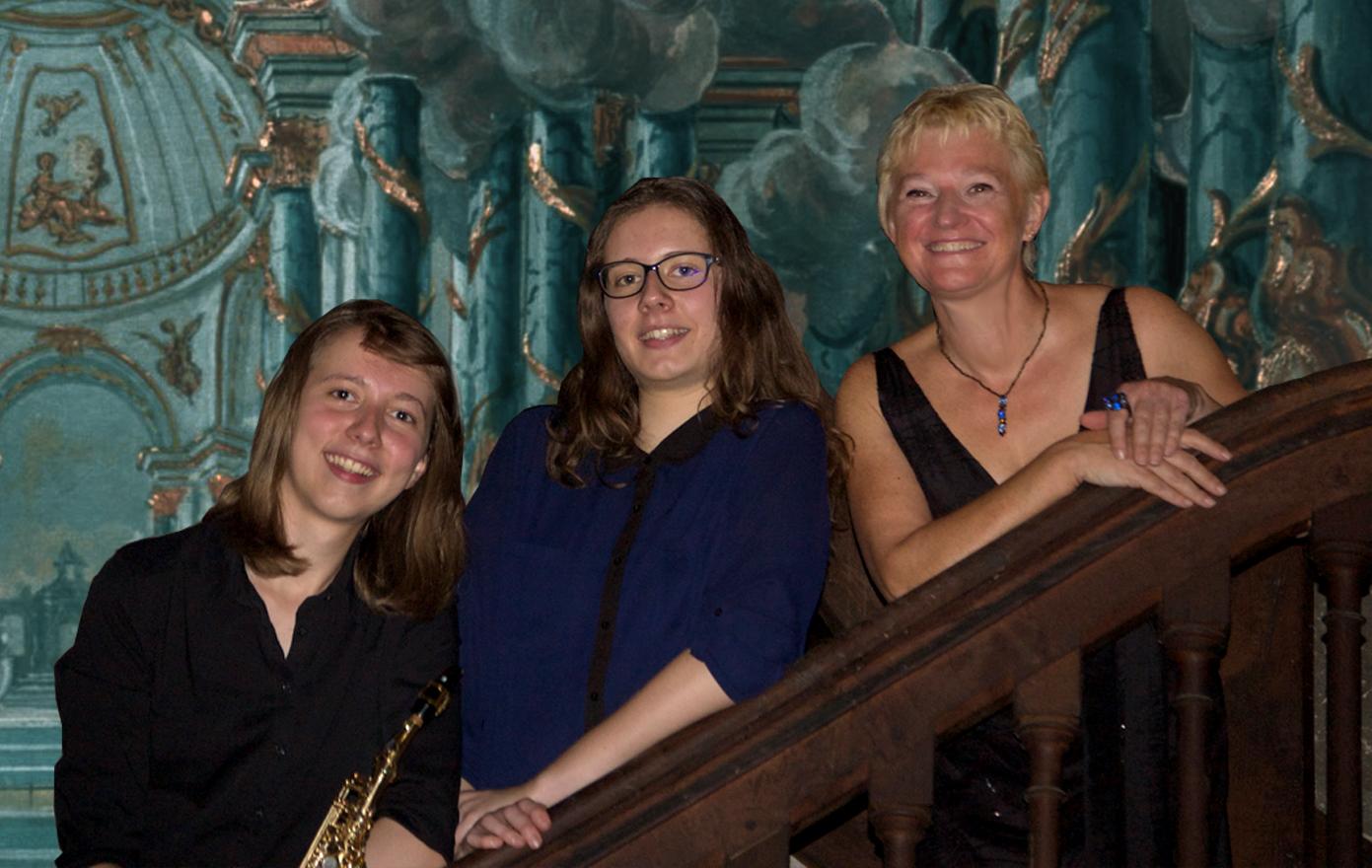 Armelle, Mathilde et Sylvie